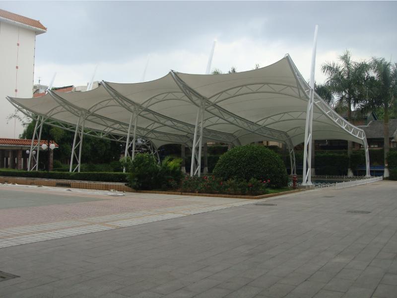 漳州宾馆游泳池膜结构