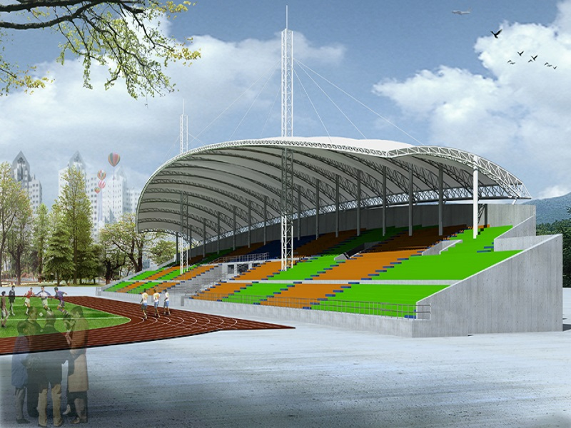 泉州体育看台膜结构