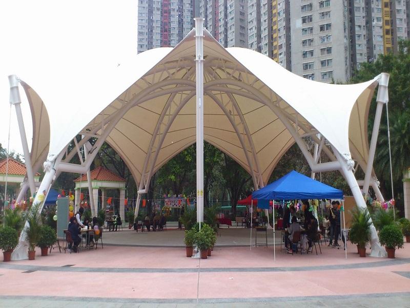 厦门景观膜结构