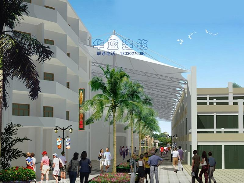 商场中庭膜结构