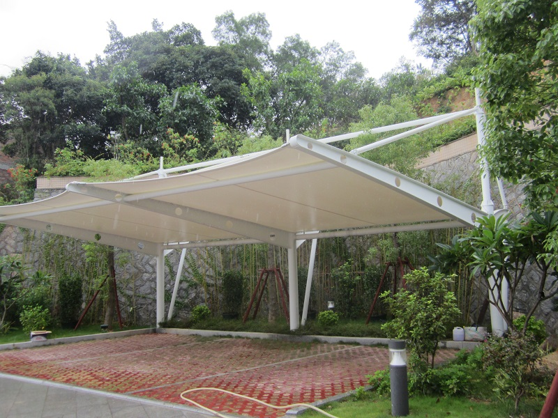 台山车棚膜结构