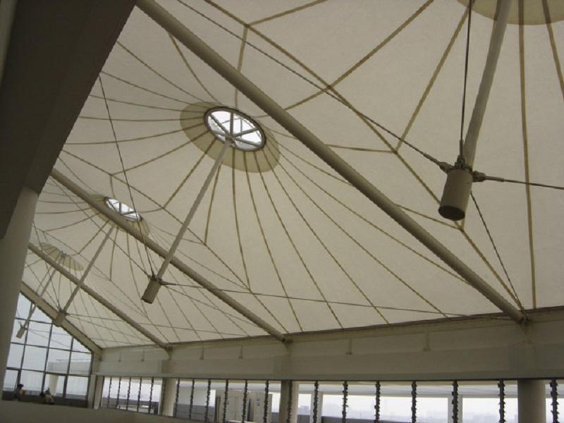 广场屋面膜结构