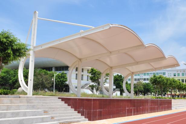 晋江潘径中学膜结构